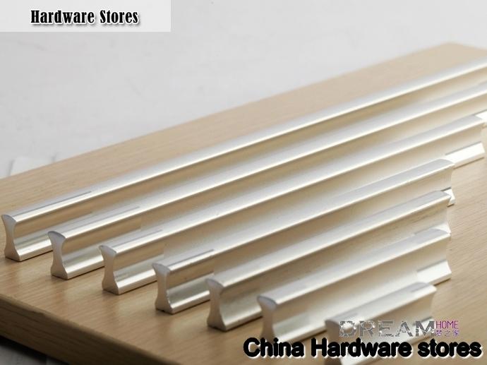 32mm Aluminium alloy cabinet handle / kitchen handle / door pull ...