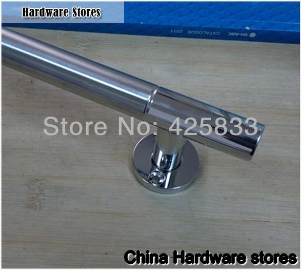 240mm 304 Stainless Steel Big Glass & Wood Handles Modern ...