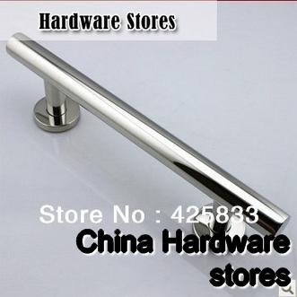 300mm 304 Stainless Steel Big Glass U0026 Wood Door Handles Modern Furniture  Dresser Chrome Silver Pulls