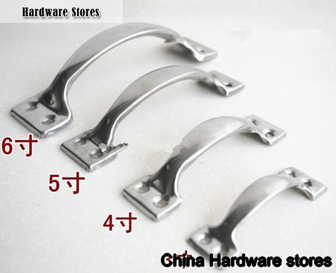 50pcs 102mm 304 Stainless Steel Door Pulls Drawer Ks Cheap Furniture Cabinet Doors Kitchen Cabinet Doors