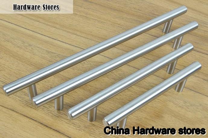 Furniture Hardware Stainless Steel Kitchen Cabinet Handles Bar T ...