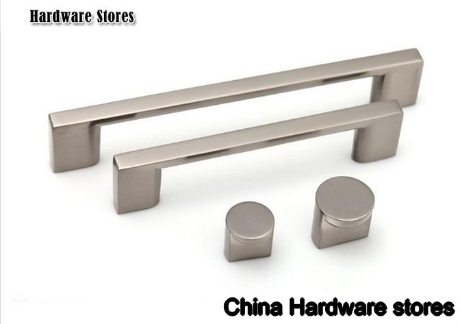 Stainless Steel 304 Kitchen Cabinet Drawer Handles Bar Knob(Diameter:17mm)