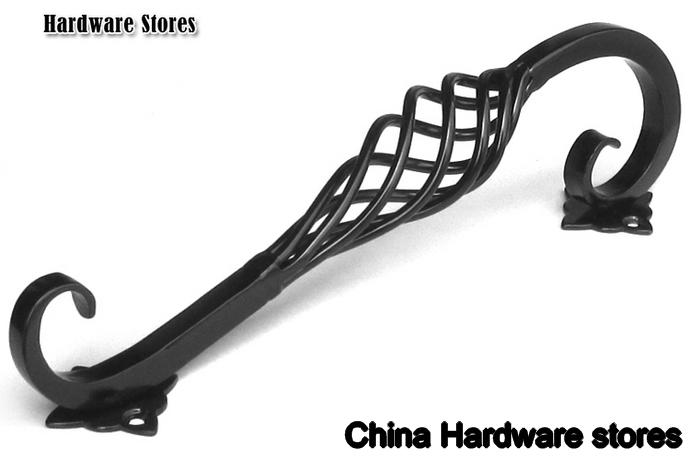 128mm Europen Cabinet Hardware /cabinet Handle/ Kitchen Cabinet Handle ,  Black Pull Handle C