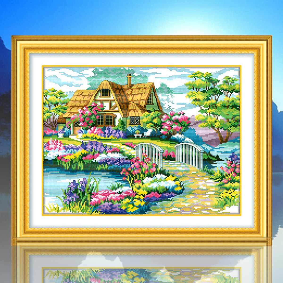 Beautiful design best promotion needlework countryside