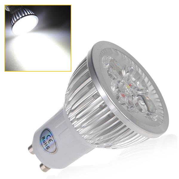 best price gu10 4 led high power energy saving spotlight home light lamp bulb warm white cool. Black Bedroom Furniture Sets. Home Design Ideas