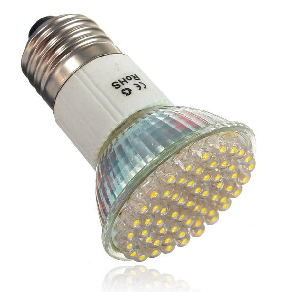 Best Promotion E27 3w 60 Led Energy Saving Spotlight Spot Light Home Lamp Bulb Warm White 220v