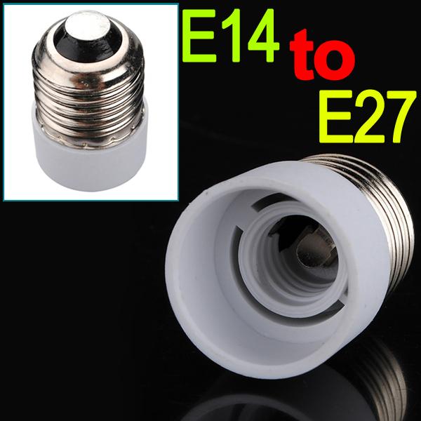 overvalue e14 to e27 light lamps holder converters bulb high temperature resistant adapter. Black Bedroom Furniture Sets. Home Design Ideas